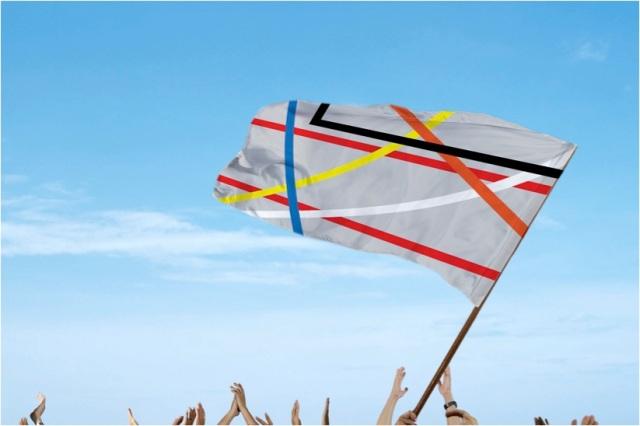 Columbusplein vlag